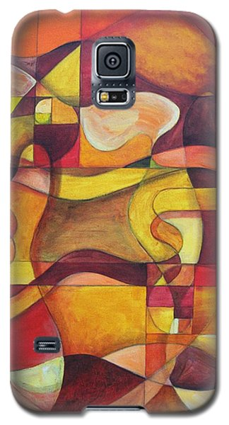 Galaxy S5 Case featuring the painting Let There Be Songs In The Air by Rick Ahlvers