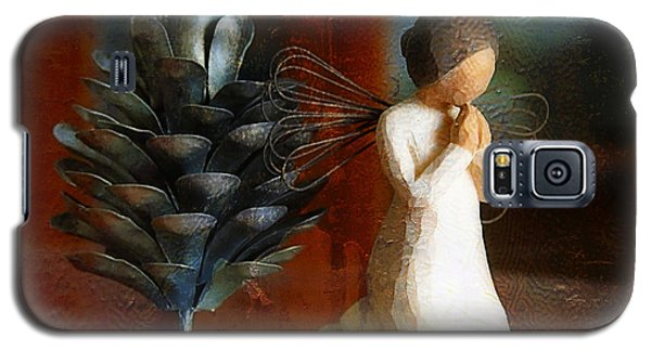 Let Us Pray Galaxy S5 Case by Joan Bertucci