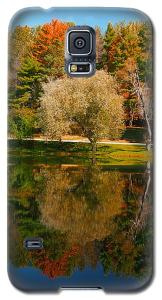 Letchworth Autumn Reflections Galaxy S5 Case by Richard Engelbrecht