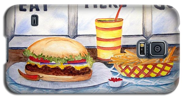 Let's Eat Here Galaxy S5 Case by Carol Grimes