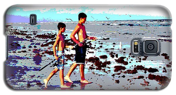 Galaxy S5 Case featuring the photograph Let's Go Fishing by Linda Cox