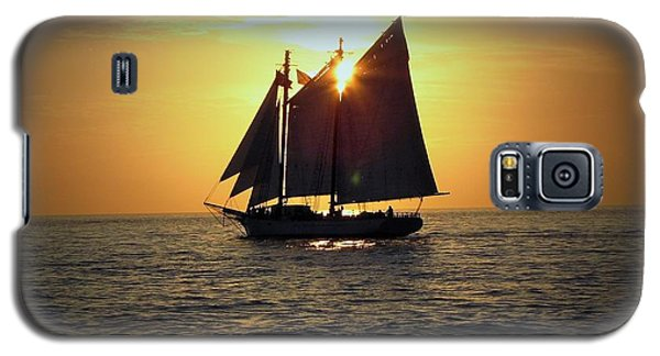 A Key West Sail At Sunset Galaxy S5 Case
