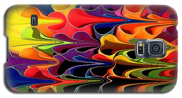 Galaxy S5 Case featuring the digital art Lets Go This Way by Mary Bedy