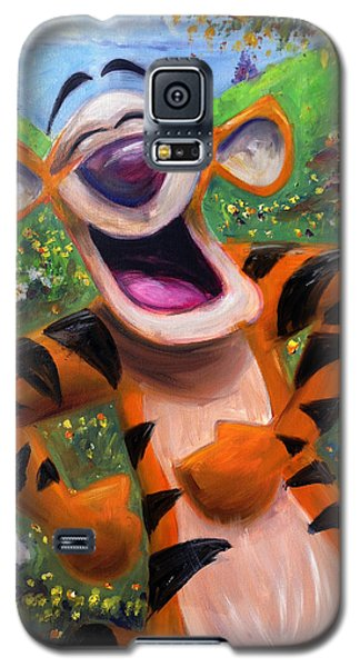 Let's You And Me Bounce - Tigger Galaxy S5 Case by Andrew Fling
