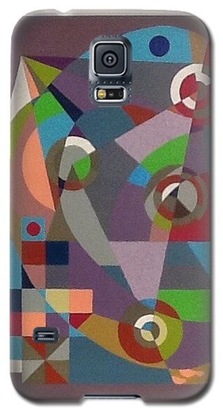 Galaxy S5 Case featuring the drawing Letter C by Hang Ho