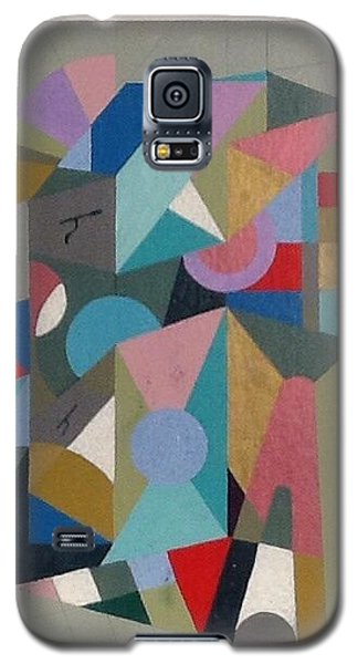 Galaxy S5 Case featuring the painting Letter H by Hang Ho