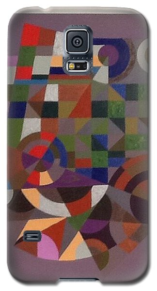 Galaxy S5 Case featuring the painting Letter J by Hang Ho