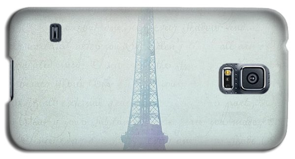 Letters From Paris Galaxy S5 Case by Lisa Parrish