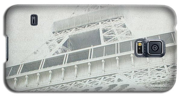 Letters From The Eiffel - Paris Galaxy S5 Case by Lisa Parrish