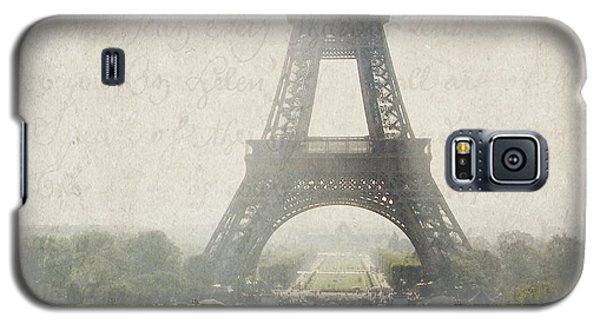 Letters From Trocadero - Paris Galaxy S5 Case by Lisa Parrish