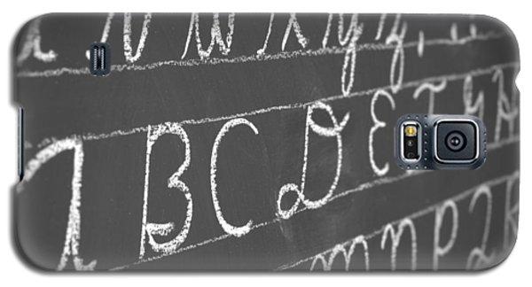 Letters On A Chalkboard Galaxy S5 Case