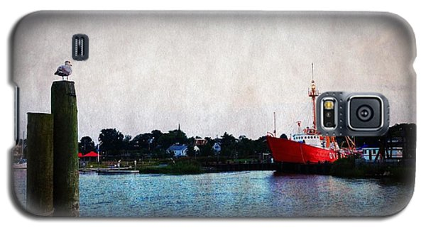 Lewes - Overfalls Lightship 2 Galaxy S5 Case by Richard Reeve