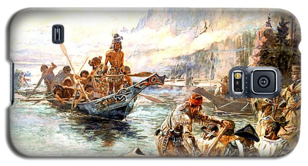 Lewis And Clark On The Lower Columbia  Galaxy S5 Case