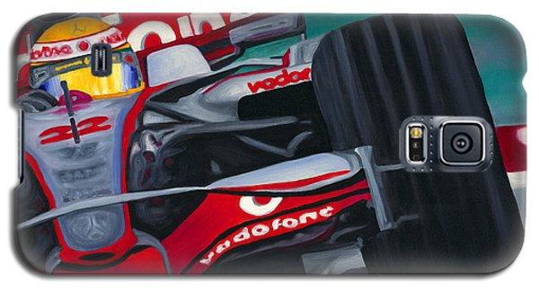 Lewis Hamilton F1 World Champion Pop Galaxy S5 Case