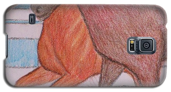 Galaxy S5 Case featuring the drawing Lexington  by Christy Saunders Church