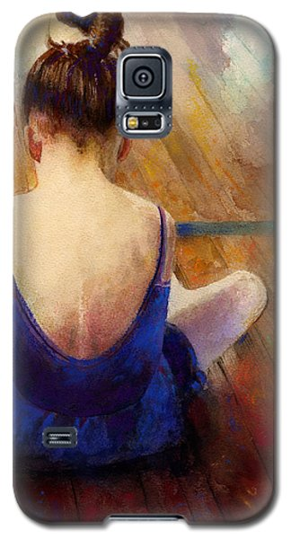 Galaxy S5 Case featuring the painting LG by Andrew King