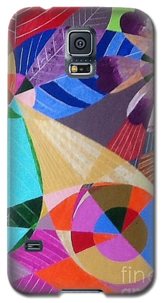 Lgbt Flowers And Leaves Galaxy S5 Case by Hang Ho