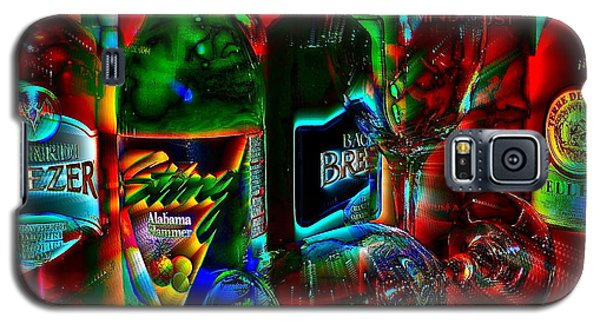 Galaxy S5 Case featuring the photograph Libations by Linda Bianic