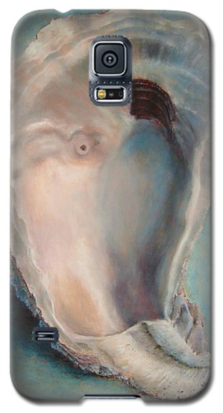 Galaxy S5 Case featuring the painting Libby's Oyster by Pam Talley