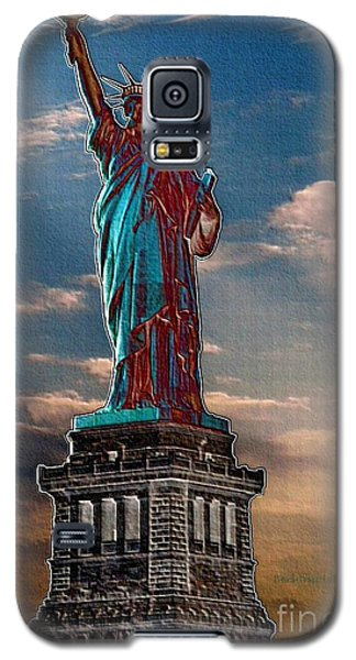 Galaxy S5 Case featuring the photograph Liberty For All by Luther Fine Art