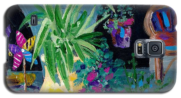 Library Courtyard-rhodes Old Town Galaxy S5 Case