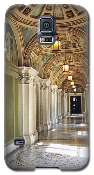 Library Of Congress Hallway Washington Dc Galaxy S5 Case