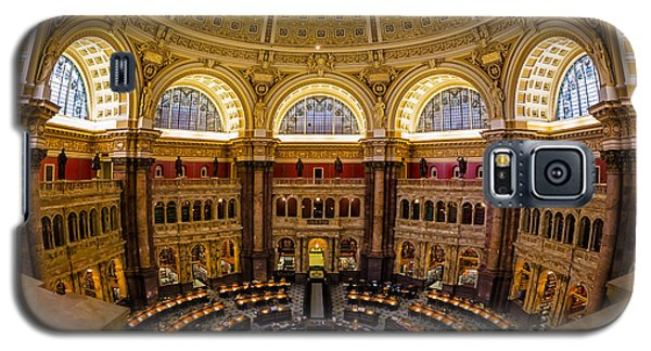 Library Of Congress Main Reading Room Galaxy S5 Case