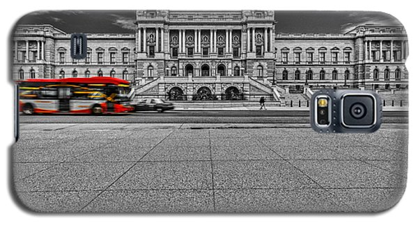Galaxy S5 Case featuring the photograph Library Of Congress by Peter Lakomy