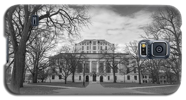 Library Ohio State University Black And White  Galaxy S5 Case