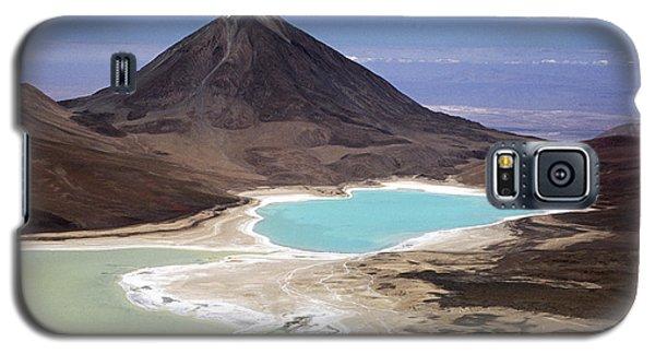 Licancabur Volcano And Laguna Verde Galaxy S5 Case