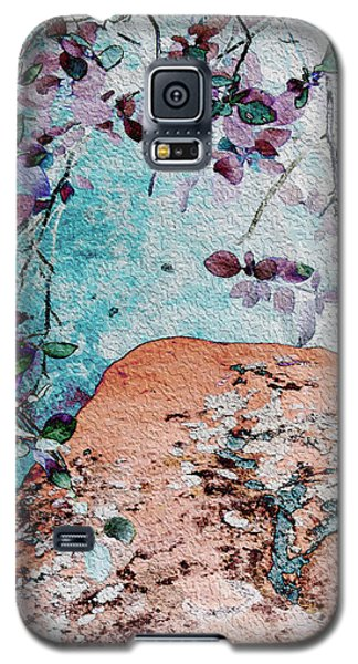 Lichen And Leaves Galaxy S5 Case by Stephanie Grant