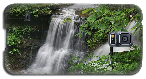 Lichen Falls Ozark National Forest Galaxy S5 Case