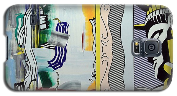 Lichtenstein's Painting With Statue Of Liberty Galaxy S5 Case