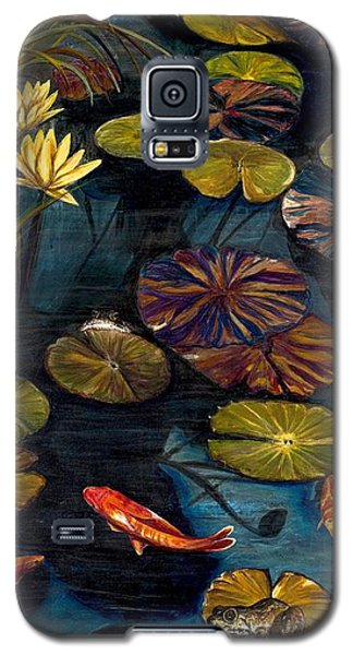 Life Among The Lily Pads Galaxy S5 Case