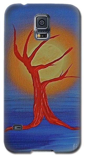 Galaxy S5 Case featuring the painting Life Blood By Jrr by First Star Art