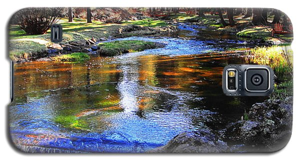 Life By A Babbling Brook Galaxy S5 Case by Natalie Ortiz