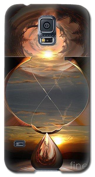 Life Clock Galaxy S5 Case by Bruno Santoro