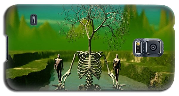 Life Death And The River Of Time Galaxy S5 Case