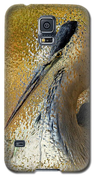 Life In The Sunshine - Bird Art Abstract Realism Galaxy S5 Case