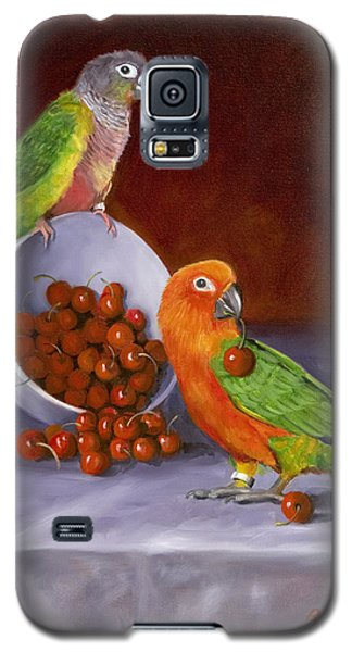 Life Is A Bowl Of Cherries Galaxy S5 Case by Karen Wilson