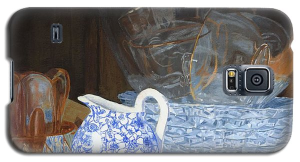 Galaxy S5 Case featuring the painting Life Is A Carnival Glass by Lynne Reichhart