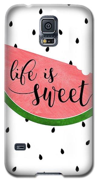 Life Is Sweet - Watermelon Galaxy S5 Case