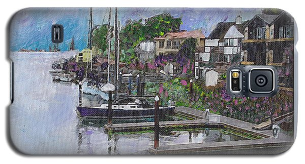Alameda Life On The Estuary Galaxy S5 Case by Linda Weinstock