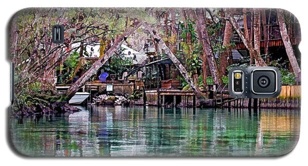 Galaxy S5 Case featuring the photograph Life On Weeki Wachee Springs by Pamela Blizzard