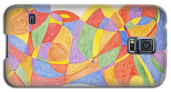 Galaxy S5 Case featuring the painting Graffiti Life  by Stormm Bradshaw