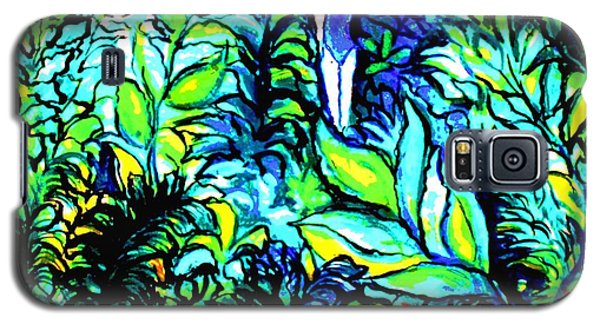 Galaxy S5 Case featuring the painting Life Without Filters by Hazel Holland