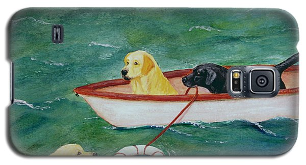 Lifeboat Labrador Dogs To The Rescue Galaxy S5 Case