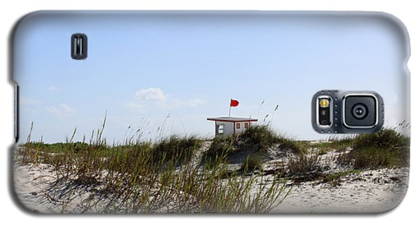 Galaxy S5 Case featuring the photograph Lifeguard Station by Chris Thomas