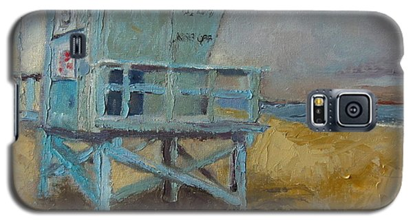 Lifeguard Station One Galaxy S5 Case by Lindsay Frost