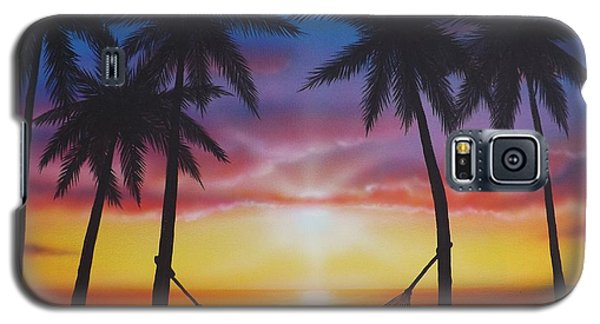 Life's A Beach Galaxy S5 Case